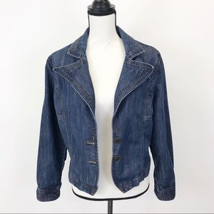 Riders by Lee jeans jacket L